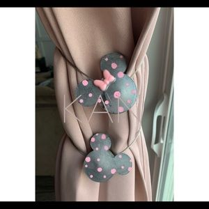 Disney inspired curtain tie back